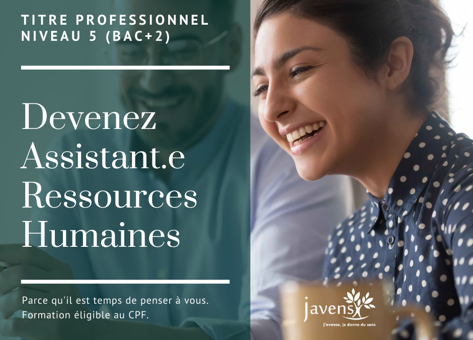 Formation Assistant.e Ressources Humaines Javens
